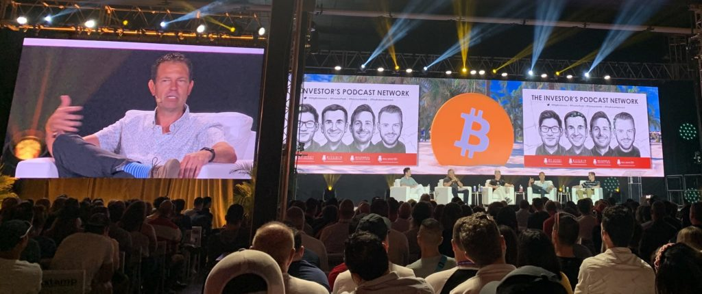 Panelists at Bitcoin 2021 in Miami